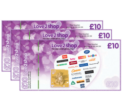 Free £50 Love2Shop Voucher