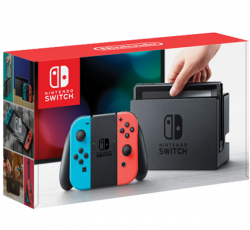 Free Nintendo Switch Console Grey