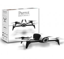 Free Parrot BeBop Drone 2 White