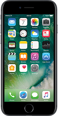 Apple iPhone 7 32GB Black front large image