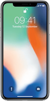 Refurbished Apple iPhone X 64GB Silver