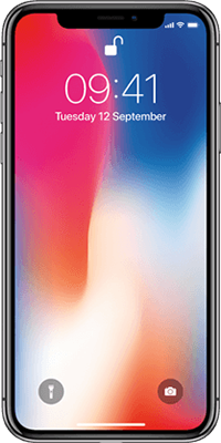 Apple iPhone X 64GB Space Grey front large image