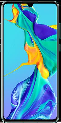 Huawei P30 128GB Aurora Blue front large image