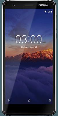 Nokia 3.1 16GB  Black