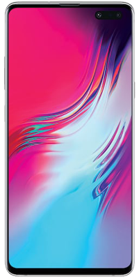 Samsung Galaxy S10 5G 256GB Crown Silver front large image