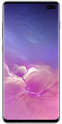 Samsung Galaxy S10 Plus 128GB Prism Black front large image