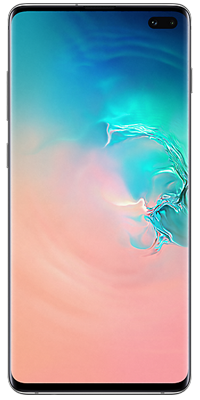 Samsung Galaxy S10 Plus 128GB Prism White front large image