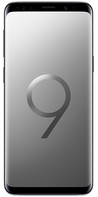 Samsung Galaxy S9 64GB Titanium Grey front large image