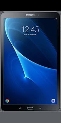 Samsung Galaxy Tab A 10.1 16GB Black front large image
