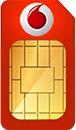 Vodafone Data SIM Card