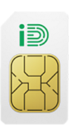 iD Mobile Sim Card front image