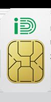 iD Sim Card front image