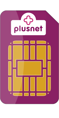 Plusnet Sim Card front large image